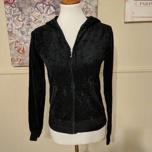 Juicy Couture terry cloth sweatshirt sz large